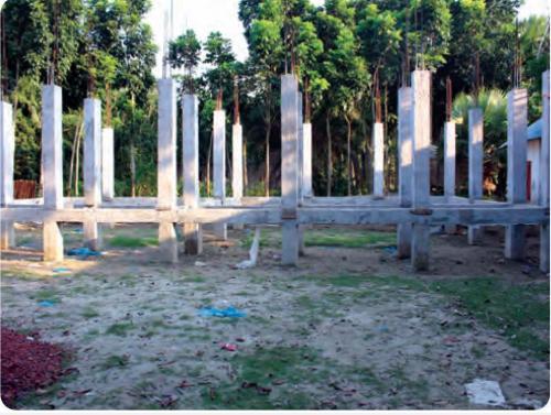 নির্মাণাধীন সপ্তপলন্টী মাধ্যমিক বিদ্যালয়