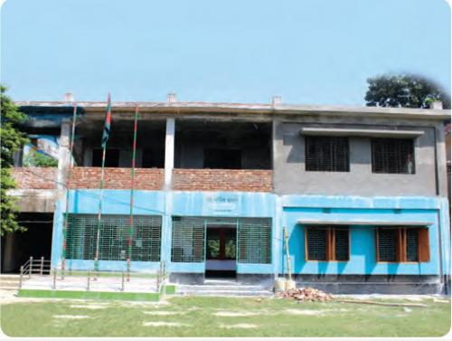 রাজধরপুর মাধ্যমিক বিদ্যালয় এর দ্বিতল ভবন নির্মাণ