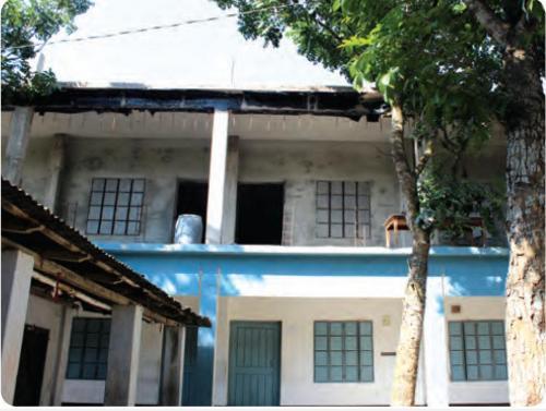 নবাবপুর মাধ্যমিক বিদ্যালয় এর দ্বিতল ভবন নির্মাণ
