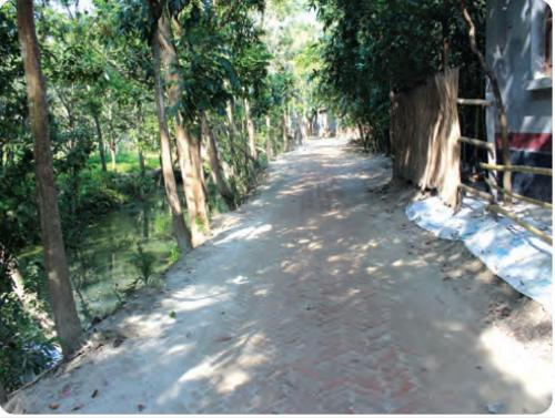 বিলধামুকা রাস্তা এইচ বি বি করণ